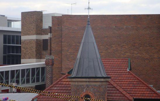 Lead Cupola, Kogarah Post Office Sydney.