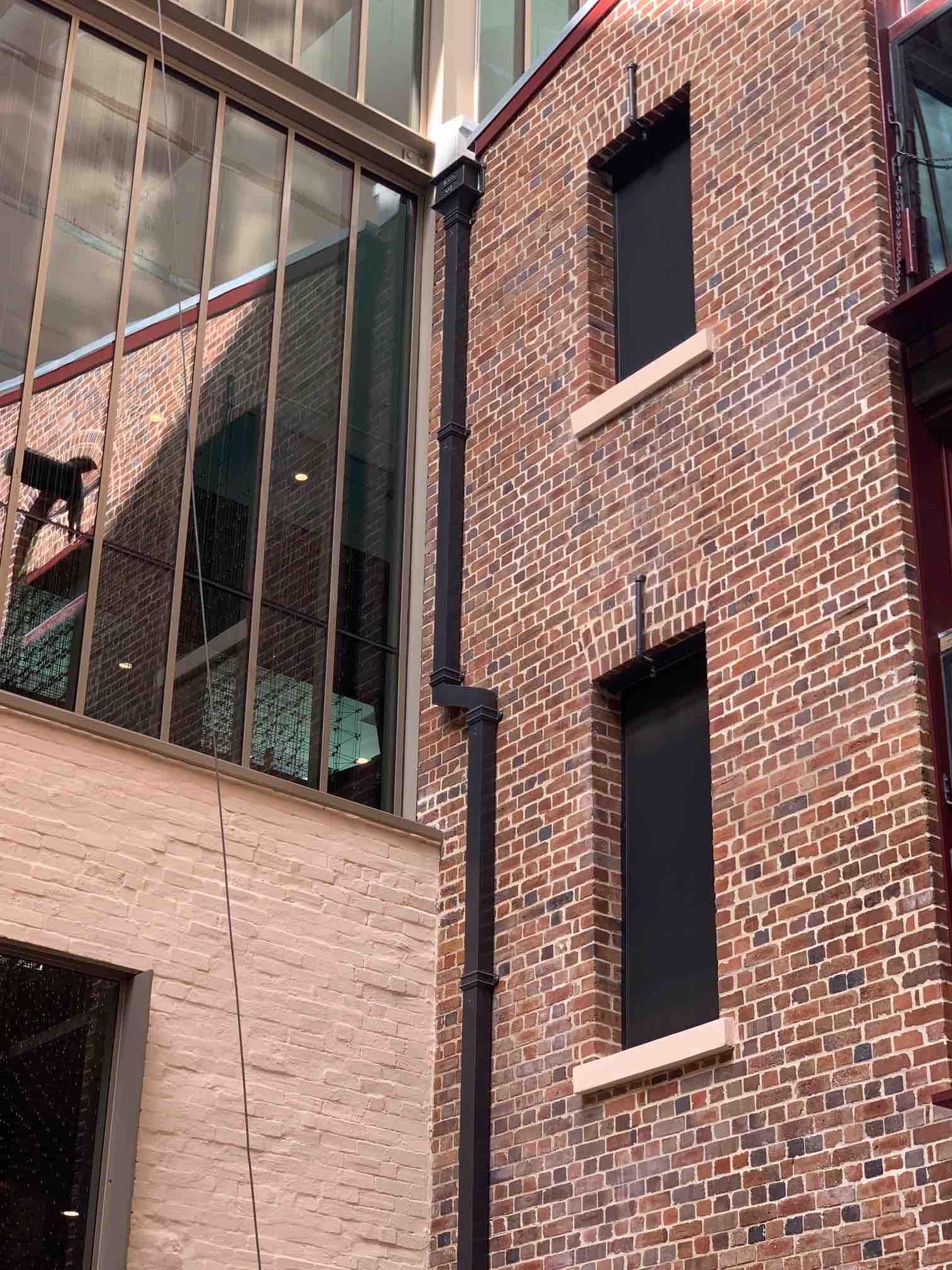 Heritage cast iron installation - Sussex St, Sydney